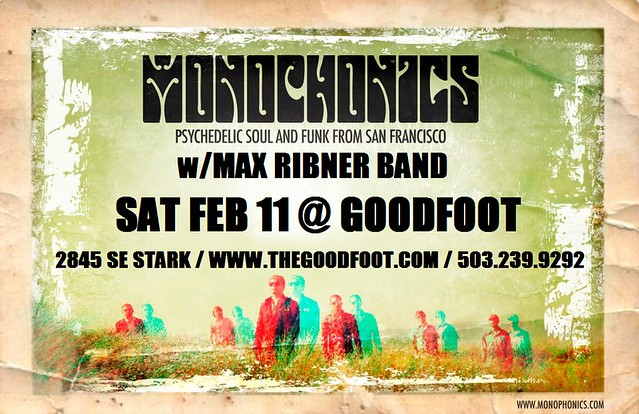 Monophonics @ The Goodfoot