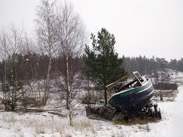 Abandoned ship - 2