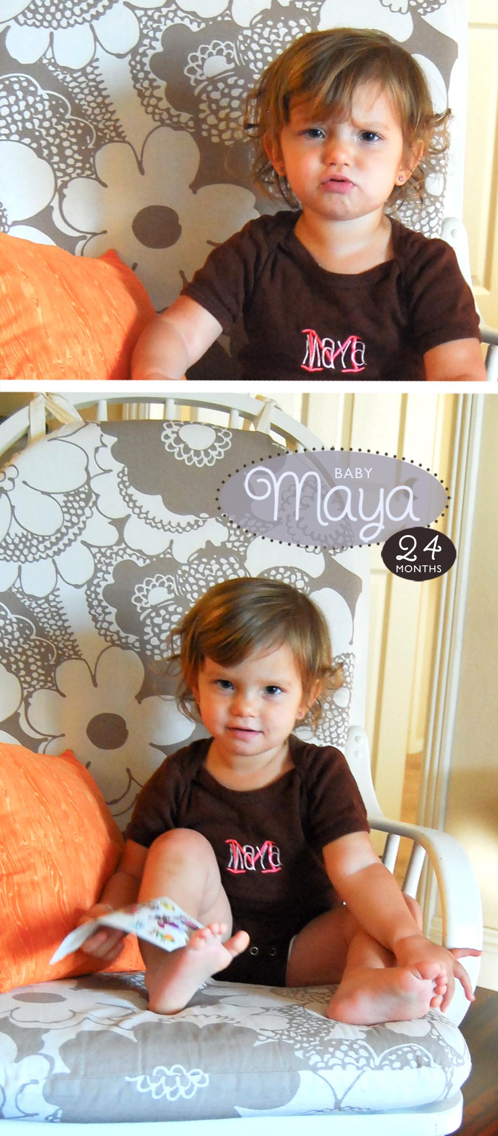 Maya is 24 Months!
