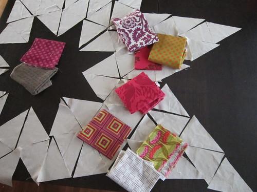 Dreaming in triangle scraps...