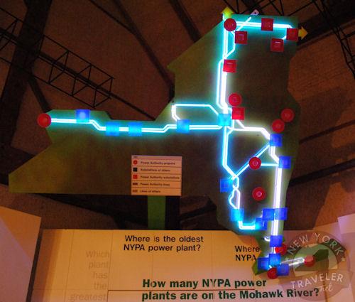 NYPA plant map