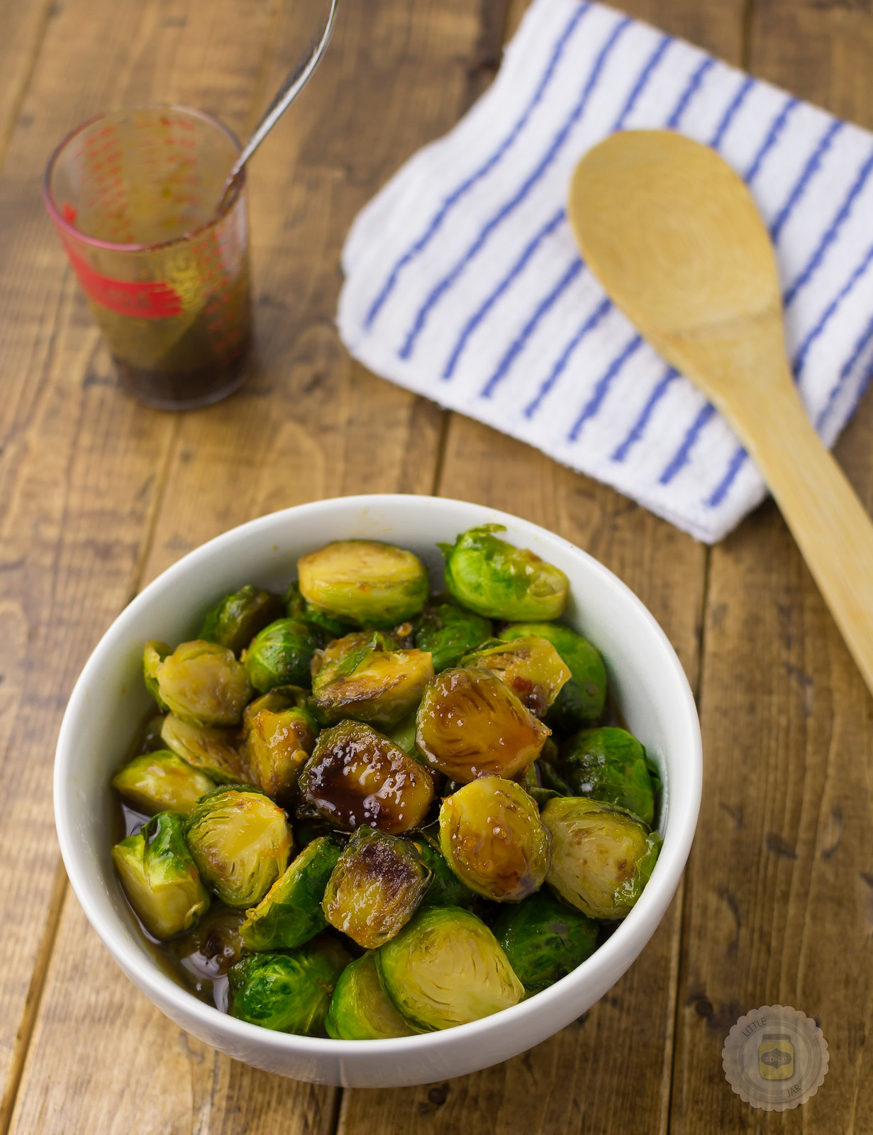 Orange Honey and Soy Glazed Brussel Sprouts 3