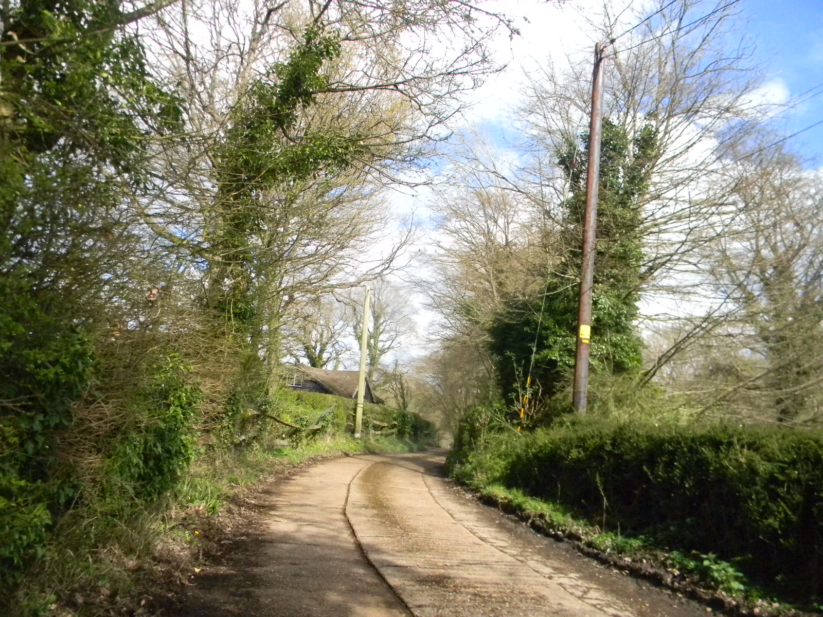 A bend in the road Etchingham to Wadhurst