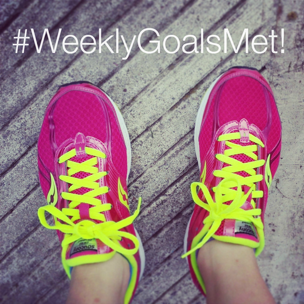 Weekly Goals Met