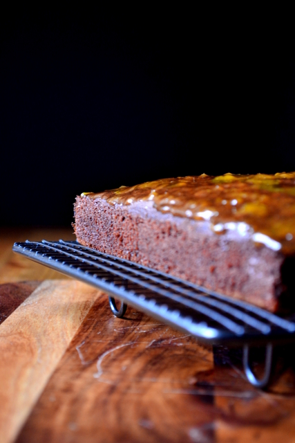 Recipe for Apricot Chocolate Fudge Cake