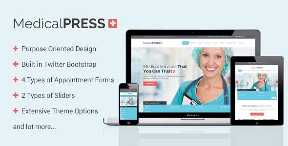 MedicalPress v1.5.1 - Health and Medical WordPress Theme