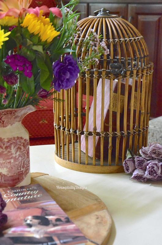 Bamboo Bird Cage - Housepitality Designs