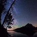"Milky Way over Jenny Lake, Grand Tetons by IronRodArt - Royce Bair (""Star Shooter"")"