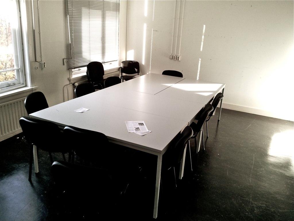 Klaslokaal KABK Den Haag