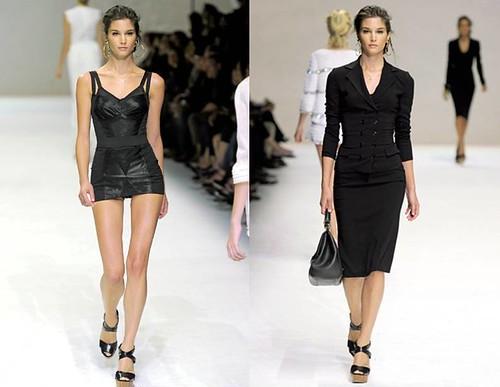Marija-Vujovic-vestidos-negros-Dolce-Gabbana