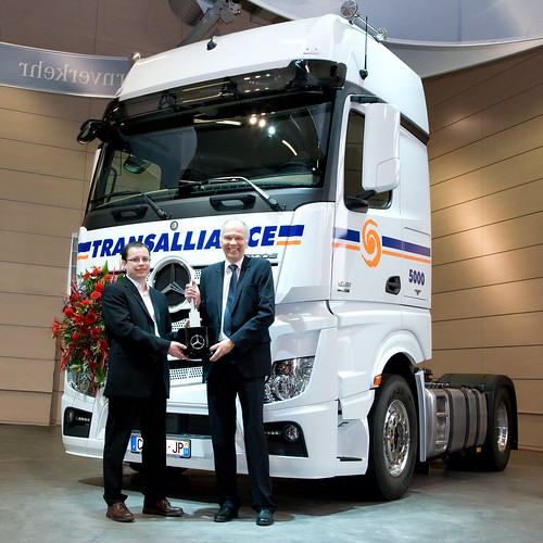 New Actros for Transalliance