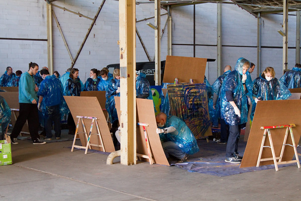 Workshop graffiti - Fotograaf als Vrijgezellenfeest