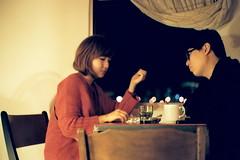 [フリー画像素材] 人物, カップル, 台湾人, 人物 - 二人 ID:201112010400