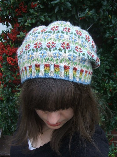Peerie Flooers hat