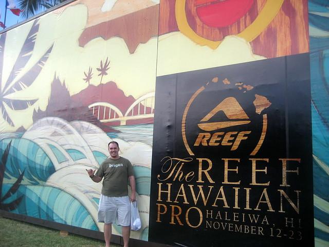 Reef Hawaiian Pro @ Haleiwa