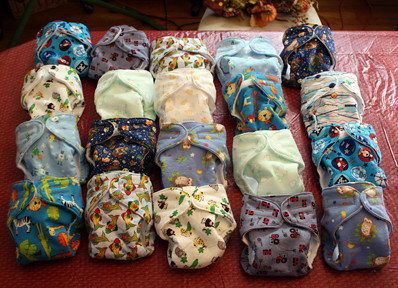 Finished Diapers
