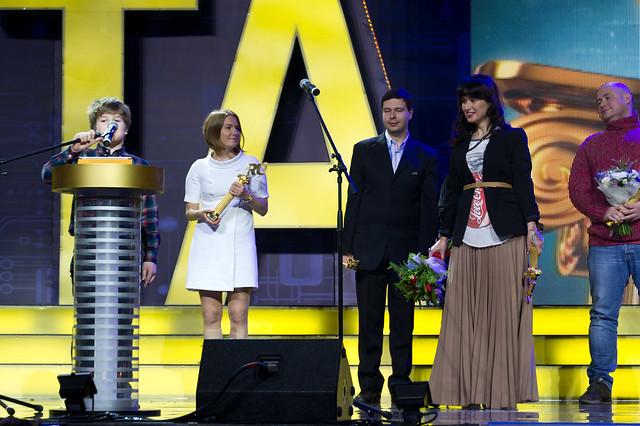 на вручении премии Рунета 2011