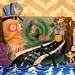 Psychonauts diorama by jess.fink