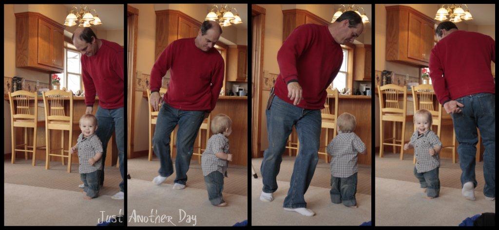 Grandpa and Mason