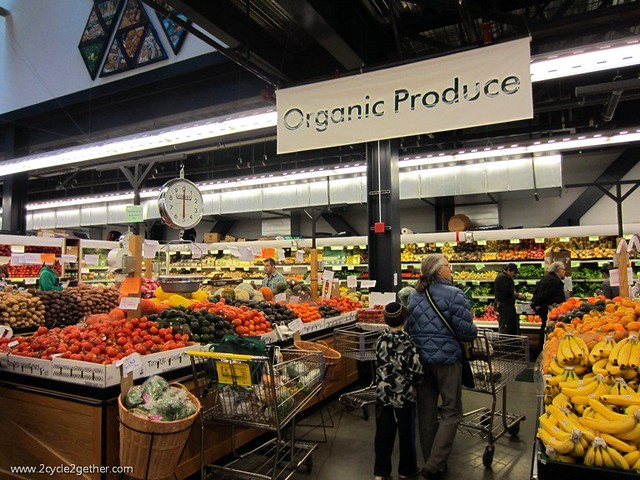 Organic Produce section in Berkeley Bowl