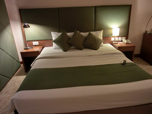 The deluxe room of the 16th floor of Hotel Novotel Nha Trang