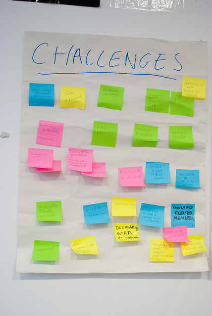 Challenges to embedding evidence