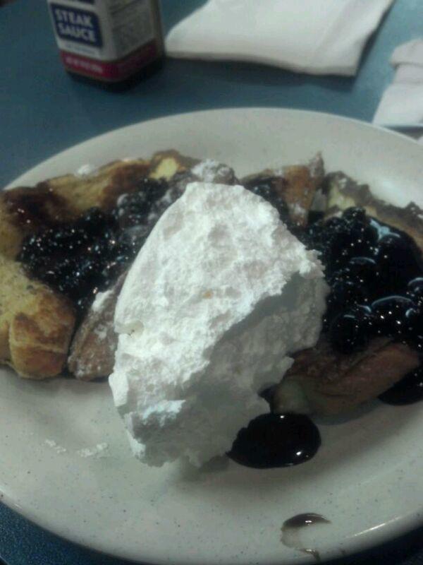 Blueberry French Toast @ Shoney's