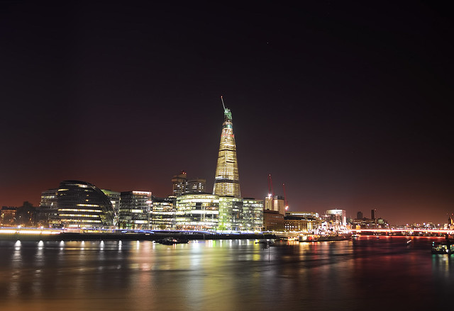 The Shard London Bridge Tower from the Tower Bridge [CPL] ϵӿƿІѻⱤɛƌ