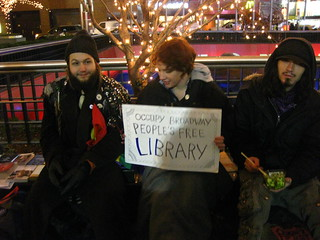 The People's Library Sign