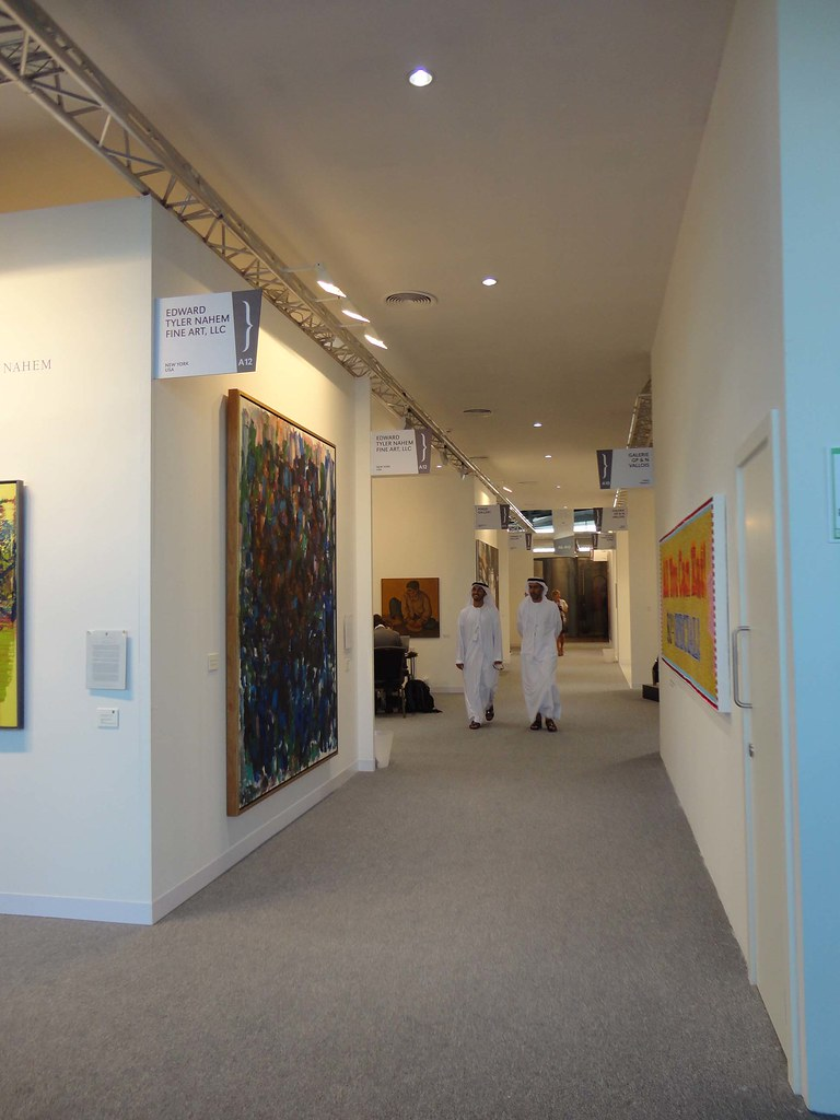 Abu Dhabi Art, 2011 Ground floor