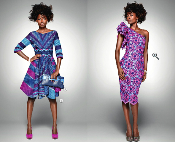 In the Vlisco Delicate Shades fabric collection, design plays a starring role, even more so than usual