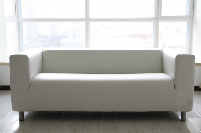 Leather Klippan sofa slipcover