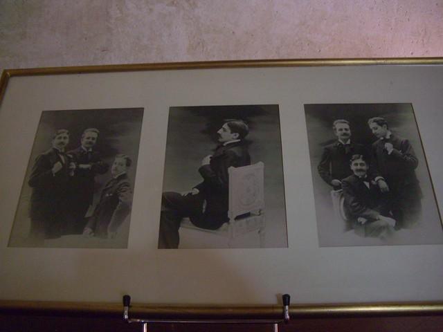 Marcel Proust, Robert de Flers et Lucien Daudet vers 1893