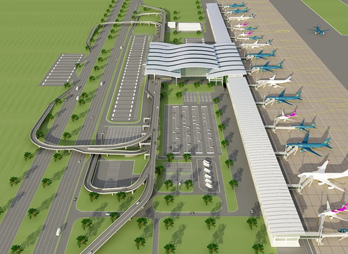 Construction begins on Noi Bai T2 terminal