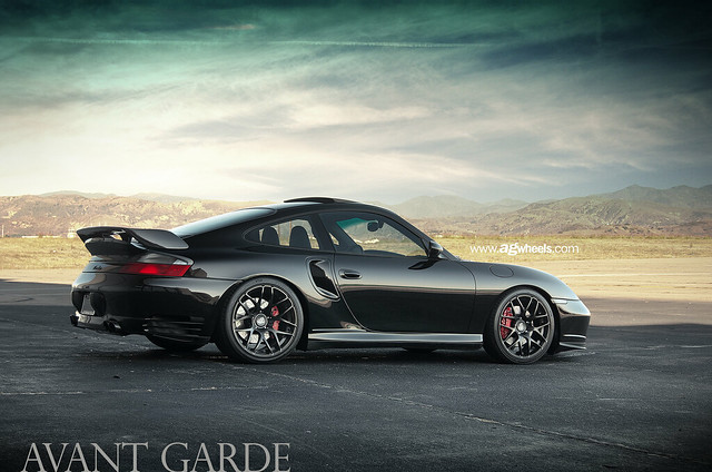 """996 Turbo - Matte Black 19"""" Ruger Mesh"""