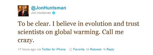 Huntsman-Tweet