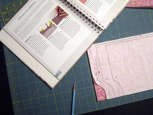 how to mark pattern dots