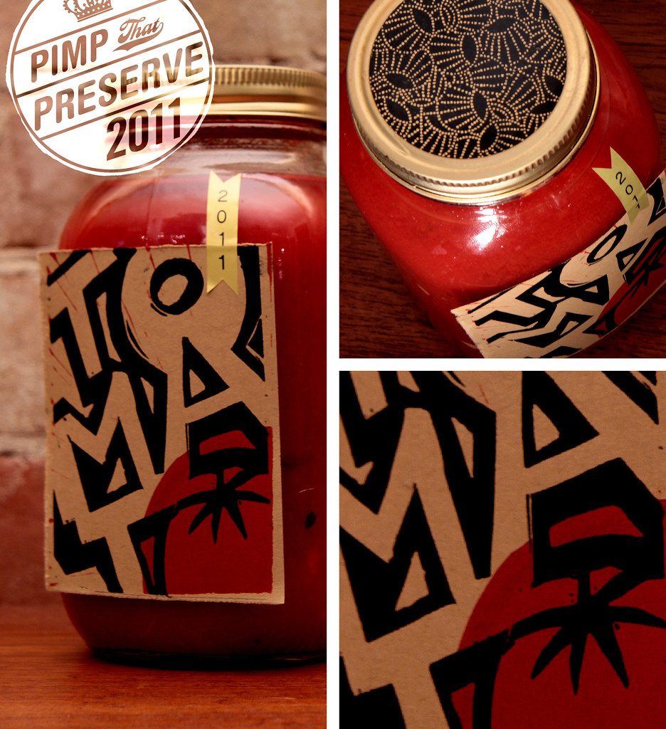 Pimp that Preserve   Jar decorating Ideas (Tomato Sauce) wellpreservedpimpsthatpreserve December