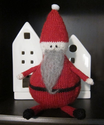 Iron Craft Challenge #49 - Roly-Poly Santa Doll
