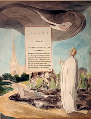 William Blake - Thomas Gray's Elegy, circa 1797.