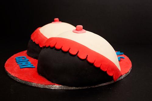 Boobs Cake