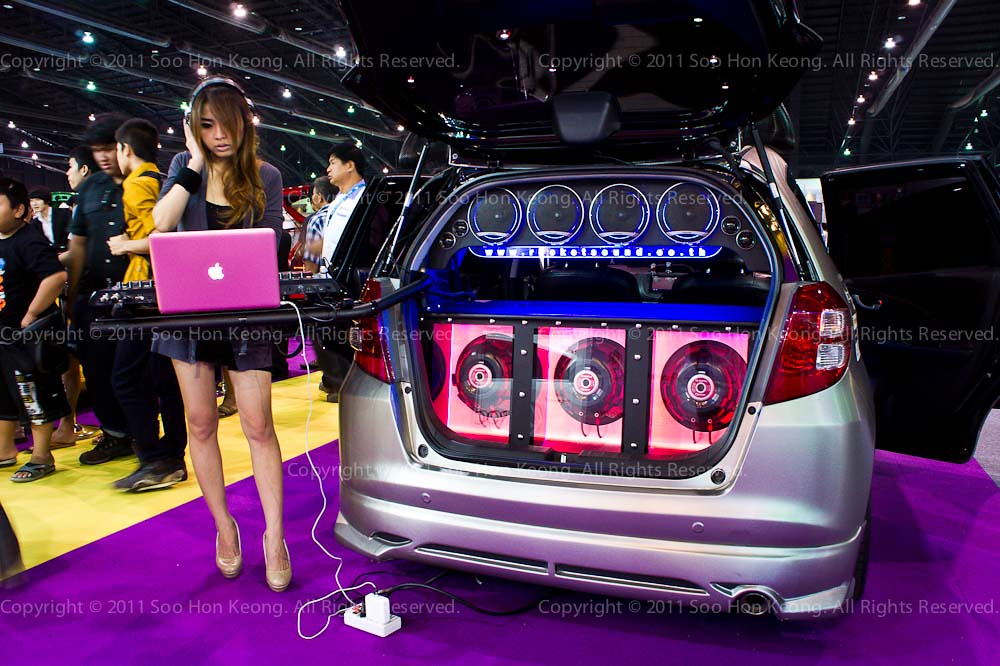 Thailand International Motor Expo 2011 @ Muang Thong Thani, Thailand