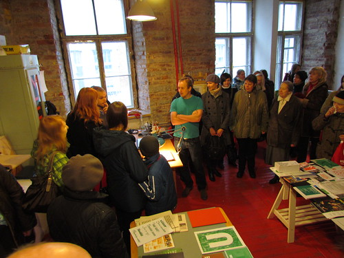 Visiting graphic designers