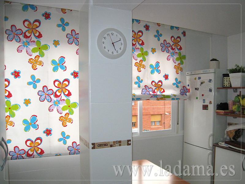 Fotograf as de cortinas de cocina for Tipos de cortinas y estores