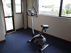 floor, exercise machine, room,