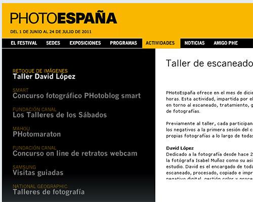Taller de escaneado, tratamiento y gestión de color para impresión de fotografías en alta calidad con David López y Epson