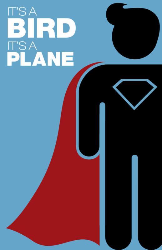Super-Heróis e suas frases 2 superman