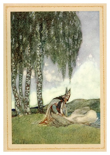037- The tale of Lohengrin knight of the swan..1914 - ilustrado por Willy Pogany