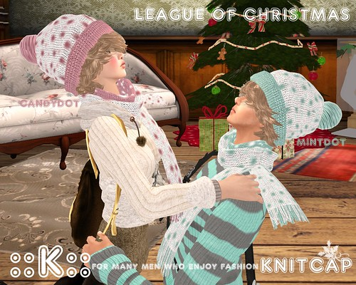 ::K:: Knit Cap League of Christmas by Kitt+