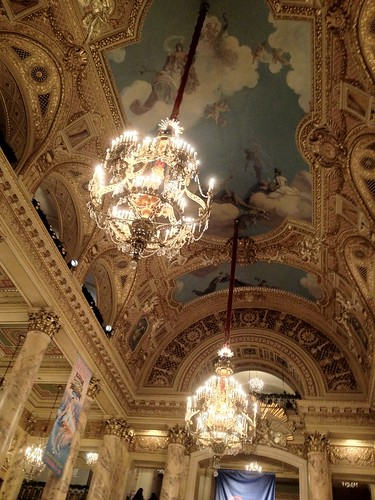 Wang Theater Ceiling